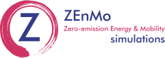 ZEnMo simulations